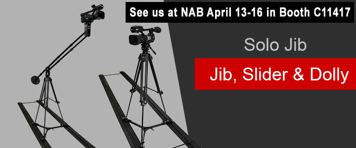 Order the Solo Jib, Slider & Dolly today!
