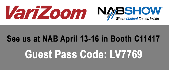See us at NAB April 13-16 in Booth C11417