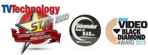 Stealthy Awards from NAB 2013