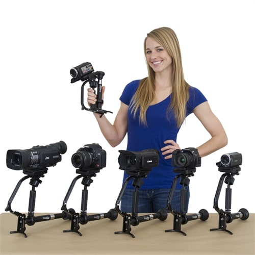 varizoom stealthy camera stabilizer monopod 3 point shooter