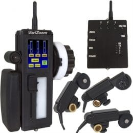 Wireless Lens Control Systems for Cinema / Broadcast